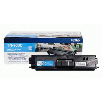 Заправка картриджа Brother TN-900C голубой