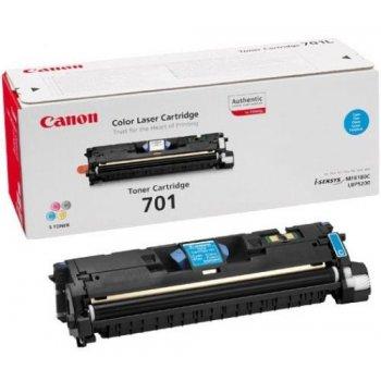 Заправка картриджа Canon 701 голубой