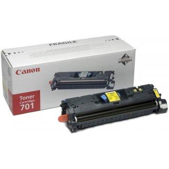 Заправка картриджа Canon 701 желтый
