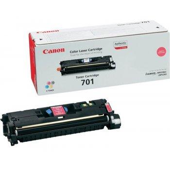 Заправка картриджа Canon 701 красный