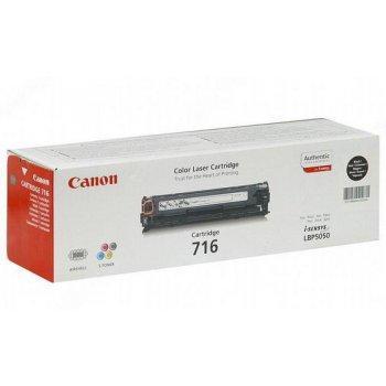 Заправка картриджа Canon 716 черный