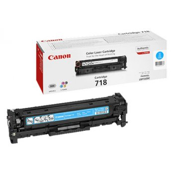 Заправка картриджа Canon 718 синий