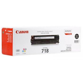 Заправка картриджа Canon 718 черный