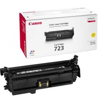 Заправка картриджа Canon 723 желтый
