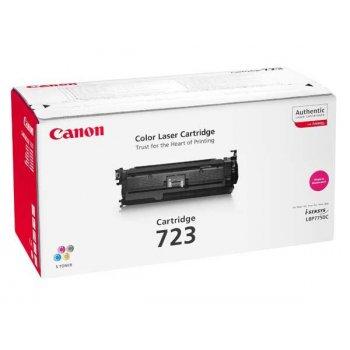 Заправка картриджа Canon 723 красный