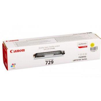 Заправка картриджа Canon 729 желтый