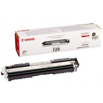 Заправка картриджа Canon 729 черный