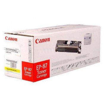 Заправка картриджа Canon EP-87Y желтый