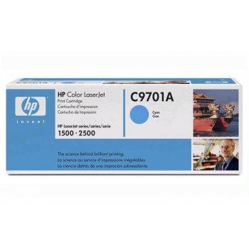 Заправка картриджа HP 9701A голубой