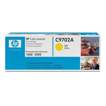 Заправка картриджа HP 9702A желтый