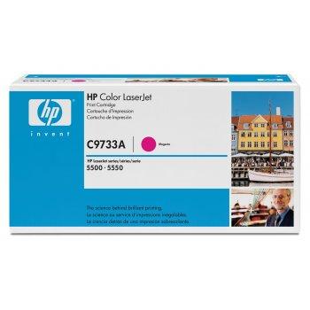Заправка картриджа HP C9733A красный