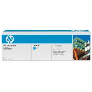 Заправка картриджа HP CB381A голубой