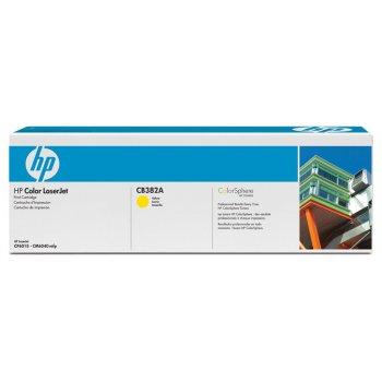 Заправка картриджа HP CB382A желтый