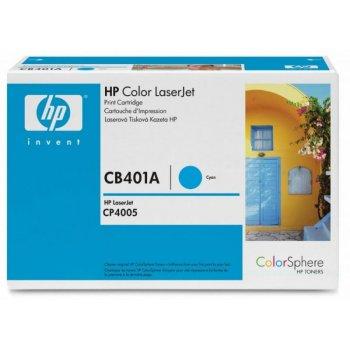 Заправка картриджа HP CB401A голубой