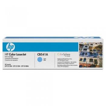 Заправка картриджа HP CB541A голубой
