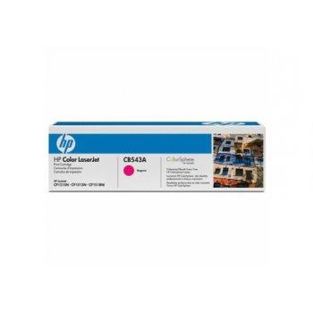 Заправка картриджа HP CB543A красный
