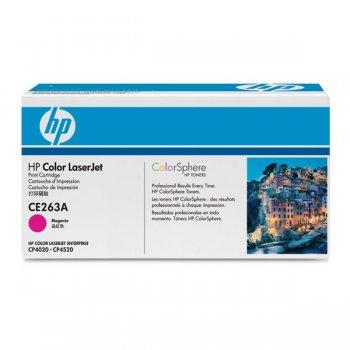 Заправка картриджа HP CE263A красный