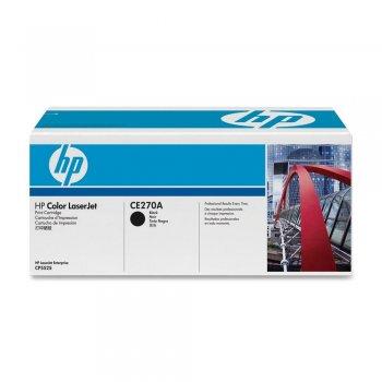 Заправка картриджа HP CE270A черный