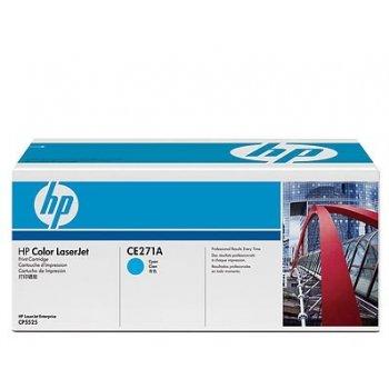 Заправка картриджа HP CE271A голубой