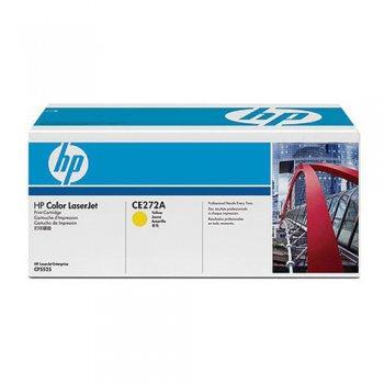 Заправка картриджа HP CE272A желтый