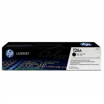 Заправка картриджа HP CE310A черный