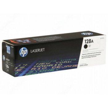 Заправка картриджа HP CE320A черный