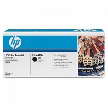 Заправка картриджа HP CE740A черный