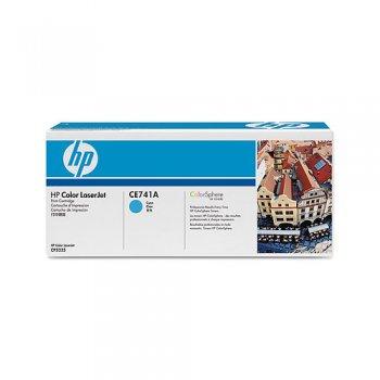 Заправка картриджа HP CE741A голубой