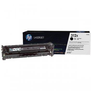 Заправка картриджа HP CF380X черный