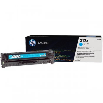 Заправка картриджа HP CF381A голубой