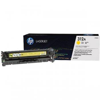 Заправка картриджа HP CF382A желтый