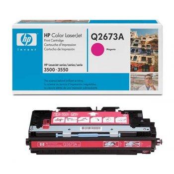 Заправка картриджа HP Q2673A красный