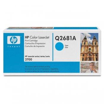 Заправка картриджа HP Q2681A голубой