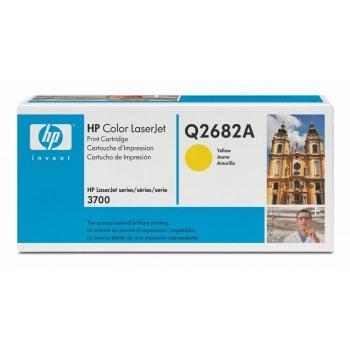 Заправка картриджа HP Q2682A желтый