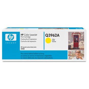 Заправка картриджа HP Q3962A желтый