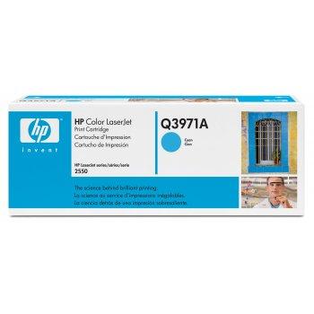 Заправка картриджа HP Q3971A голубой
