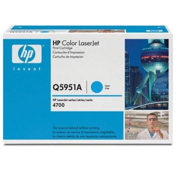 Заправка картриджа HP Q5951A голубой