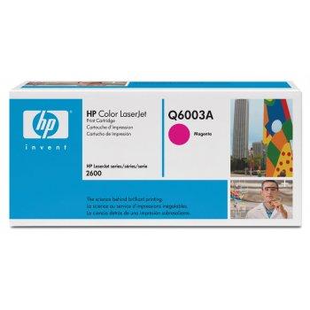 Заправка картриджа HP Q6003A красный