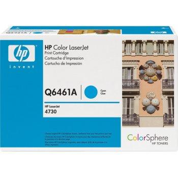 Заправка картриджа HP Q6461A голубой