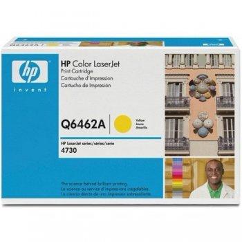 Заправка картриджа HP Q6462A желтый