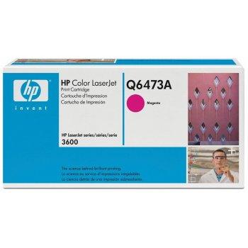 Заправка картриджа HP Q6473A красный