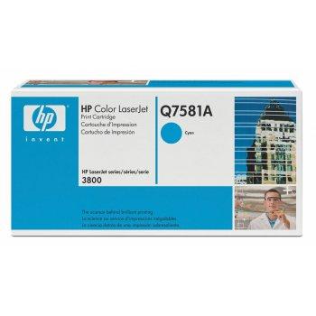 Заправка картриджа HP Q7581A голубой