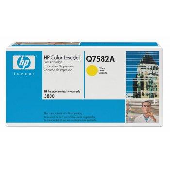 Заправка картриджа HP Q7582A желтый