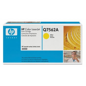 Заправка картриджа HP Q7562A желтый