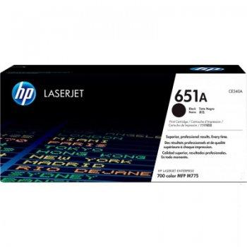 Заправка картриджа HP CE340A черный