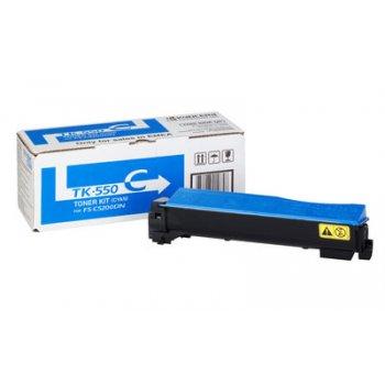 Заправка картриджа Kyocera TK-550C синий