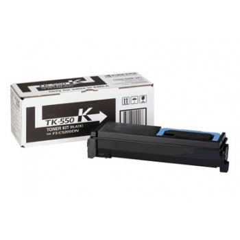 Заправка картриджа Kyocera TK-550K черный