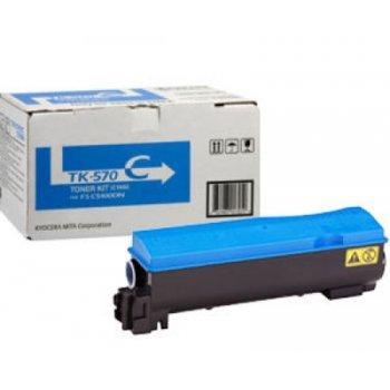 Заправка картриджа Kyocera TK-570C синий