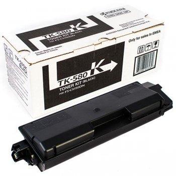 Заправка картриджа Kyocera TK-580K черный