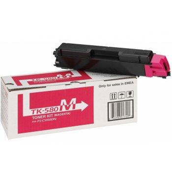 Заправка картриджа Kyocera TK-580M красный